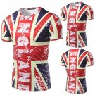 British flag 3D printing Casual Short-Sleeved T-shirt