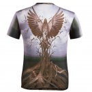 Fashion 3D Print Cool Eagle Graphic Summer Tee Shirts