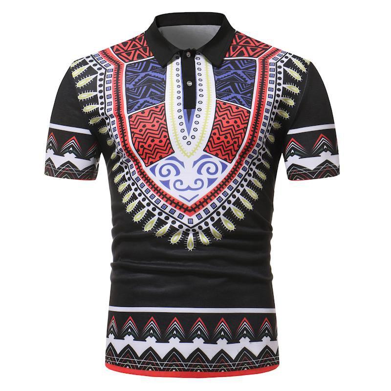 Hip Hop Short Sleeve Long Length Casual T -Shirt - 2 colors