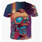 Casual 3D Print Short Sleeve T-Shirt - Model 2