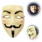 V for Vendetta Design Plastic Mask(Yellow)