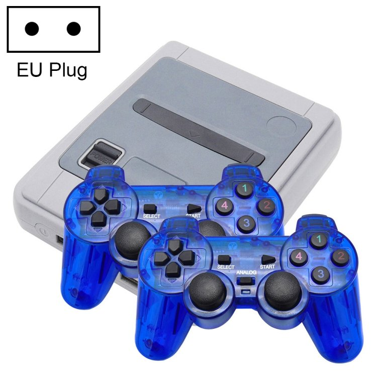 EU Plug 1000 Retro Games HDMI / AV Output Mini Video Game Console with Handle, Support TF Card