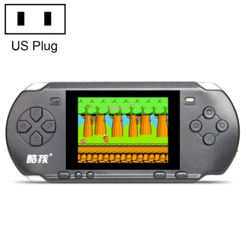 US Plug 318 in 1 Classic Games Retro Handheld Game Console with 3.2 inch Color Screen - 4 colors