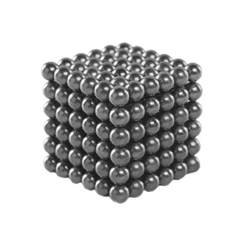 Black 216 PCS Buckyballs Magnetic Balls / Magic Puzzle Magnet Balls