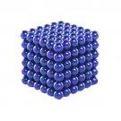 Blue 216 PCS Buckyballs Magnetic Balls / Magic Puzzle Magnet Balls