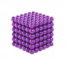 Purple 216 PCS Buckyballs Magnetic Balls / Magic Puzzle Magnet Balls