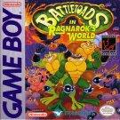 Battletoads In Ragnarok's World Gameboy Great Condition Fast Shipping