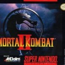 Mortal Kombat 2 SNES Great Condition Fast Shipping