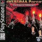Brahma Force  The Assault on Beltlogger 9 PS1 Complete