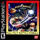 Power Rangers Zeo Full Tilt Pinball PS1 Complete
