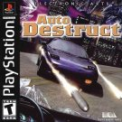 Auto Destruct PS1 Great Condition Fast Shipping