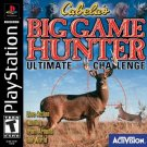 Cabela's Big Game Hunter Ultimate Challenge PS1