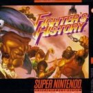 Fighter's History SNES Great Condition Fast Shipping