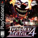 Twisted Metal 4 PS1 Great Condition Complete Fast Shipping
