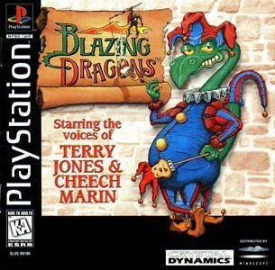 Blazing Dragons PS1 Great Condition Complete Fast Shipping