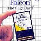 F-16 Fighting Falcon Sega Master Great Condition