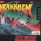 Drakkhen SNES Great Condition Fast Shipping