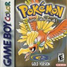 Pokemon Gold Version Gameboy Color Great Condition Fast Shipping
