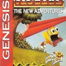 Pac-Man 2 The New Adventures Sega Genesis Great Condition Complete