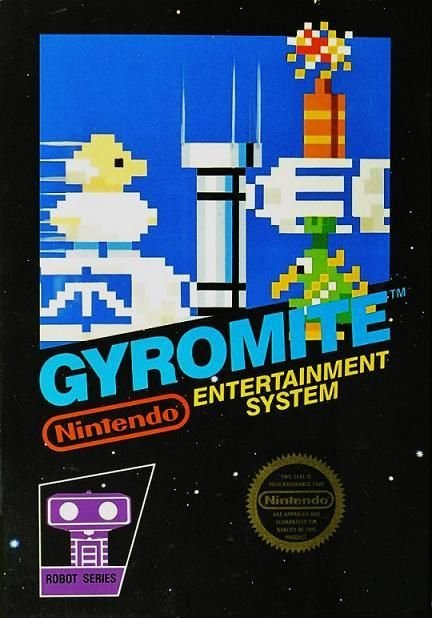 Gyromite NES Great Condition Fast Shipping
