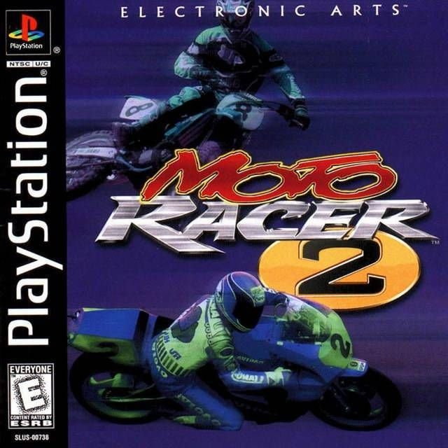 Moto Racer 2 PS1 Great Condition Fast Shipping Complete