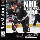 NHL Breakaway 98 PS1 Great Condition Fast Shipping