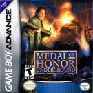 Medal Of Honor Underground GBA Great Condition Fast Shipping