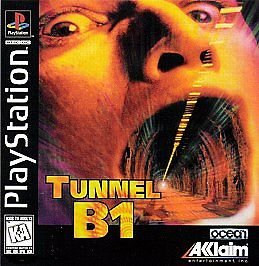 Tunnel B-1 PS1 Great Condition Complete Fast Shipping