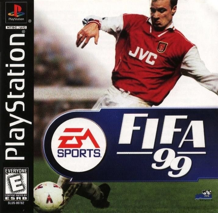 FIFA 99 PS1 Great Condition Complete Fast Shipping
