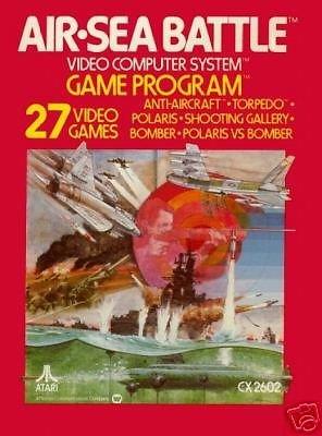 Air Sea Battle Atari 2600 Great Condition Fast Shipping