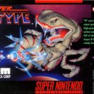 Super R Type SNES Great Condition Fast Shipping