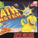 Math Blaster Episode 1 SNES Great Condition