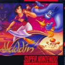 Aladdin SNES Great Condition Fast Shipping