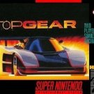Top Gear SNES Great Condition Fast Shipping
