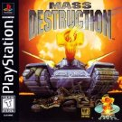 Mass Destruction PS1 Great Condition Fast Shipping