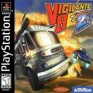 Vigilante 8 Second Offense PS1 Great Condition Fast Shipping