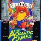 Aquatic Games Starring James Pond Sega Genesis Great Condition Fast Shipping