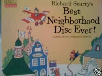 Richard Scarry's Best Neighborhood Disc Ever CD-i
