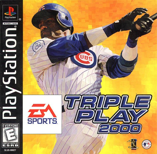 Triple Play 2000 PS1 Great Condition Complete