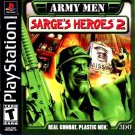 Army Men Sarge's Heroes 2 PS1 Great Condition Complete Fast Shipping