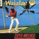 Waialae Country Club SNES Great Condition Fast Shipping