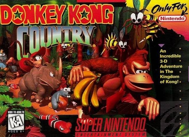 Donkey Kong Country SNES Great Condition Fast Shipping