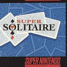 Super Solitaire SNES Great Condition Fast Shipping