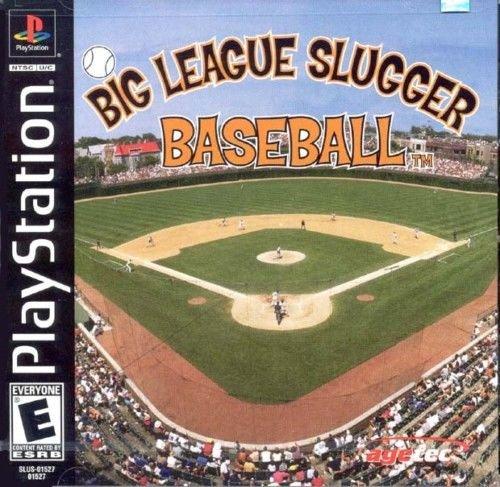Big League Slugger Baseball PS1 Complete Fast Shipping