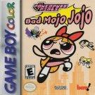 The Powerpuff Girls Bad Mojo Jojo Gameboy Color
