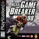 NCAA Gamebreaker '98 PS1 Great Condition Fast Shipping