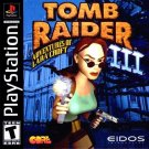 Tomb Raider 3 Adventures Of Lara Croft PS1 Great Condition Fast Shipping
