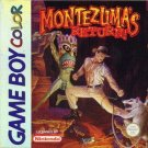 Montezuma's Return Gameboy Color Great Condition Fast Shipping