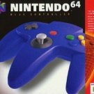 N64 Controller Blue Nintendo Brand Great Condition Fast Shipping