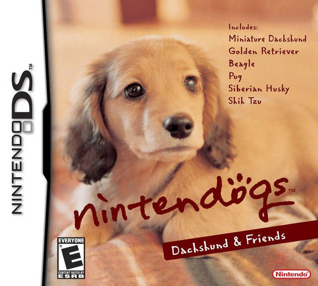 Nintendogs Dachshund & Friends Nintendo DS Great Condition Fast Shipping